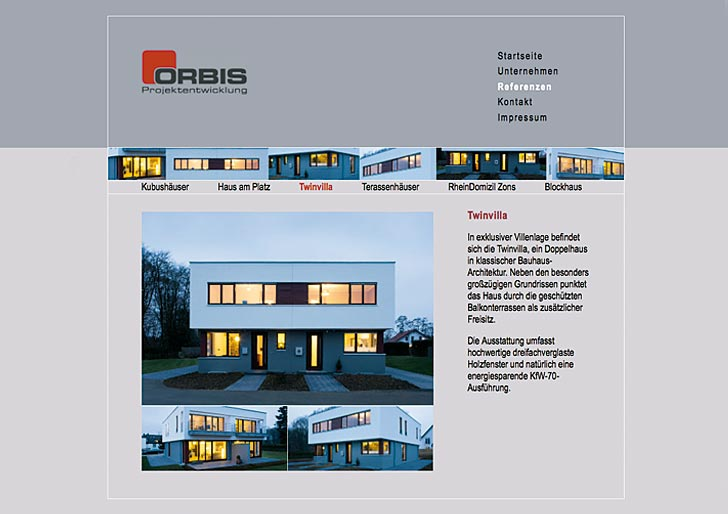 Corporate Design - Orbis Projektentwicklung